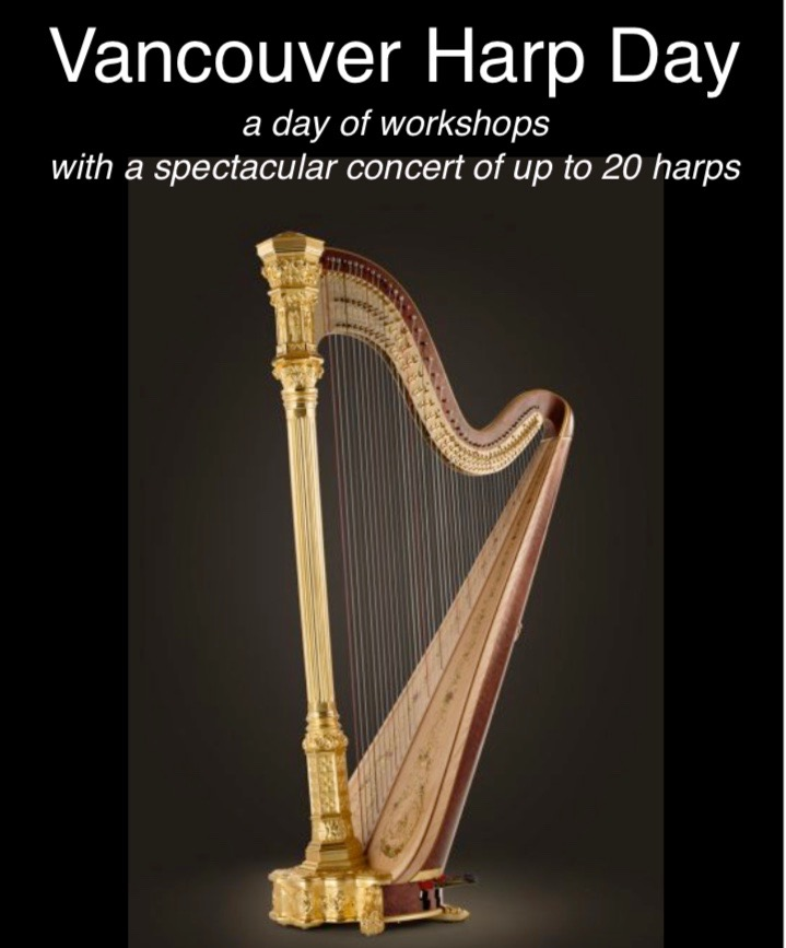 Vancouver Harp Day: Saturday, October 20th, 2018 - Aoyama ...